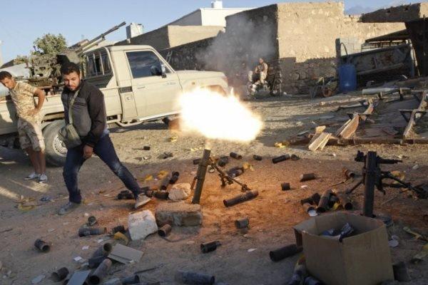 دستیابی به توافق آتش بس در لیبی