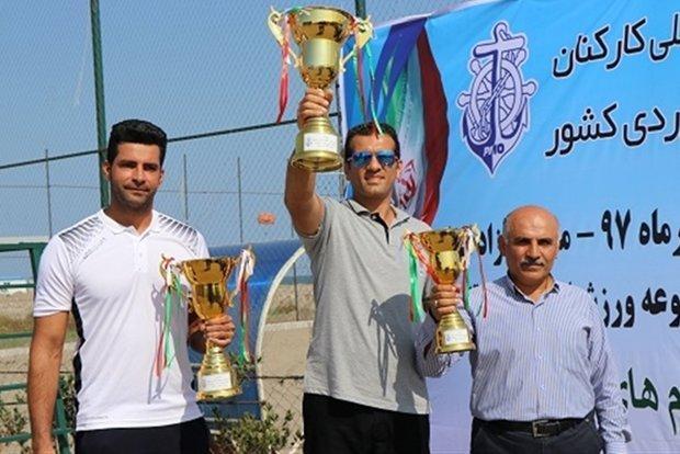 امیرآباد در مسابقات والیبال ساحلی بنادر کشور قهرمان شد