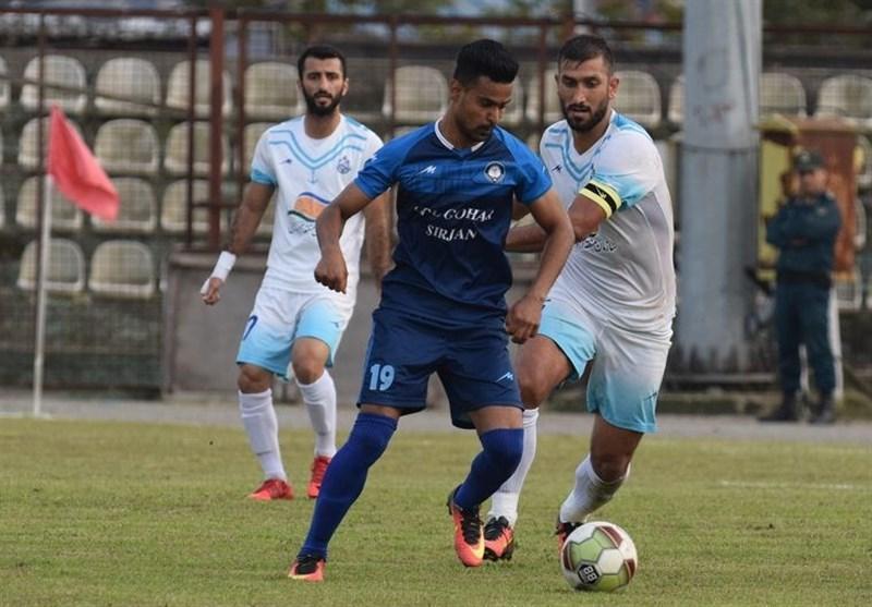 لیگ دسته اول فوتبال، توقف گل گهر مقابل استقلال جنوب
