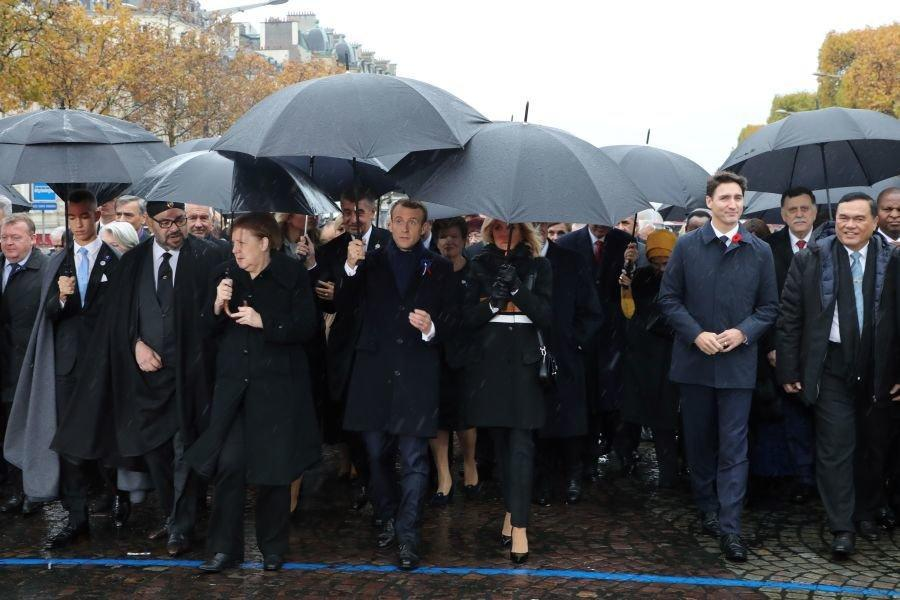 تصاویر ، گردهمایی رهبران دنیا در پاریس