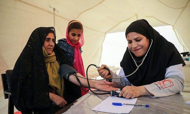اجرای طرح کاروان سلامت در مناطق زلزله زده کرمانشاه