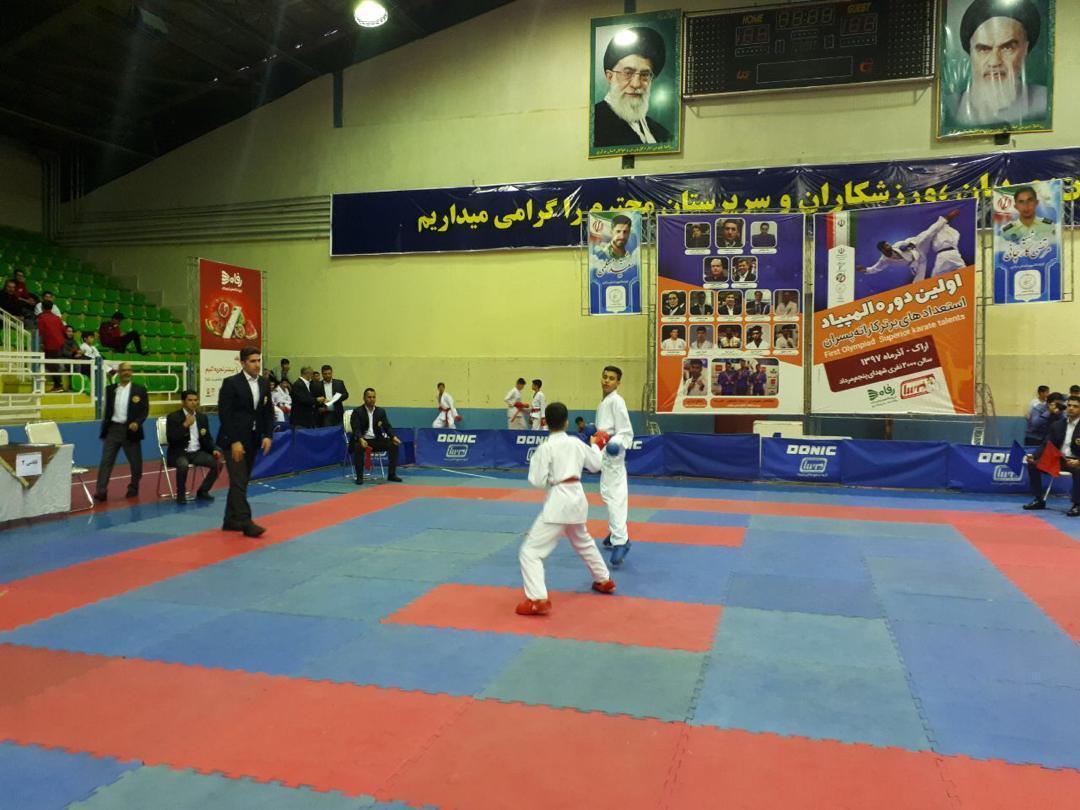 نائب قهرمانی فارس در المپیاد استعدادیابی کاراته نوجوانان
