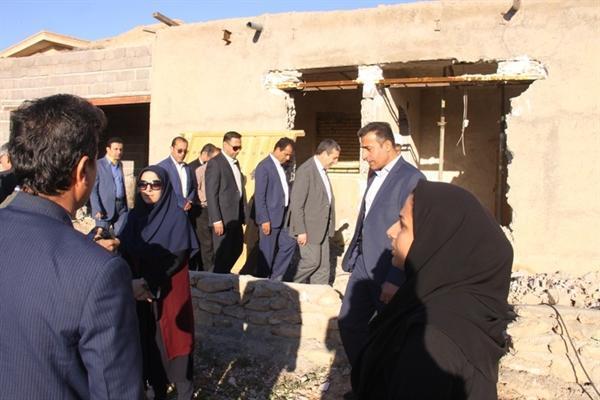 سفر مدیرکل میراث فرهنگی استان بوشهر به چهار روستای شهرستان دشتی به نمایندگی از استاندار