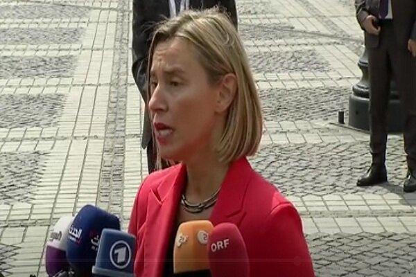 موگرینی: در نشست بروکسل درباره ایران و ونزوئلا تبادل نظر می کنیم