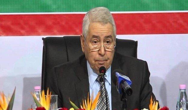 رئیس جمهور الجزایر: شرایط را برای انتخابات شفاف و پیروز تضمین خواهم کرد