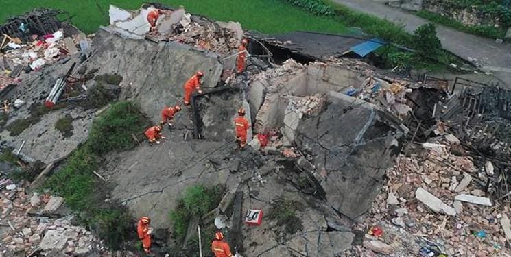 زمین لرزه 6 ریشتری در چین 12 کشته و 134 زخمی برجا گذاشت