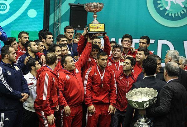 ثبت تنها یک قهرمانی در طول 59 دوره رقابتهای جهانی