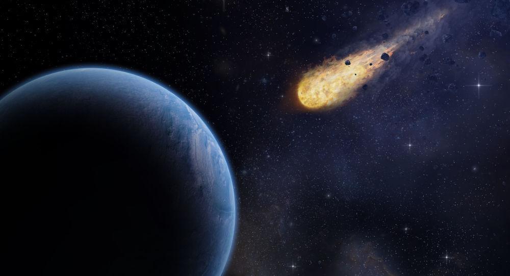خطر برخورد احتمالی سیارک ترور با زمین