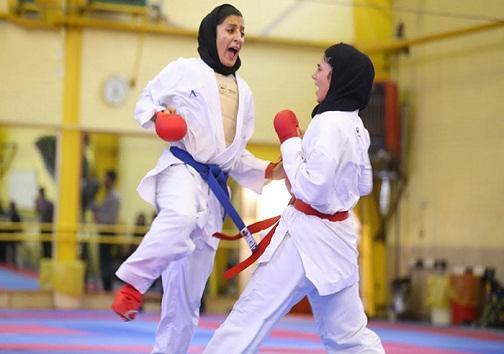 تیم کاراته زنان کهگیلویه و بویراحمد در رقابت های کشوری 13 نشان گرفت