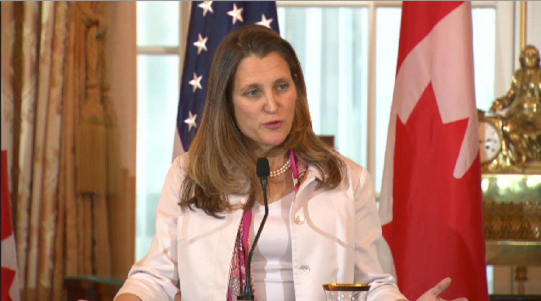 وزیر خارجه کانادا:مداخله سیاسی در بازداشت مدیر هوآوی وجود ندارد