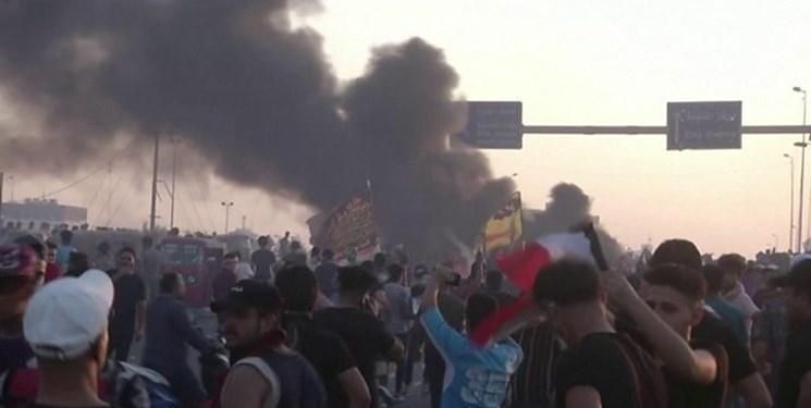 گزارش خبرنگار از بغداد، مطالبه اصلی معترضین چیست؟ ، ماجرای شعارهای ضدایرانی