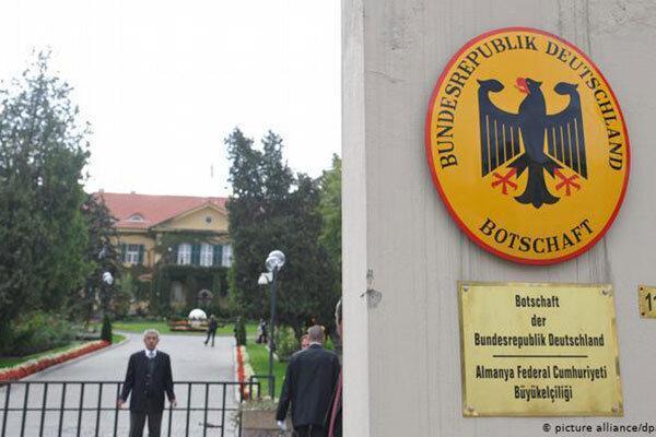 ترکیه وکیل سفارت آلمان را بازداشت کرد ، اتهام: جاسوسی