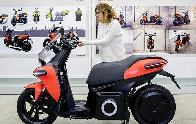 موتورسیکلت برقی تولید شد