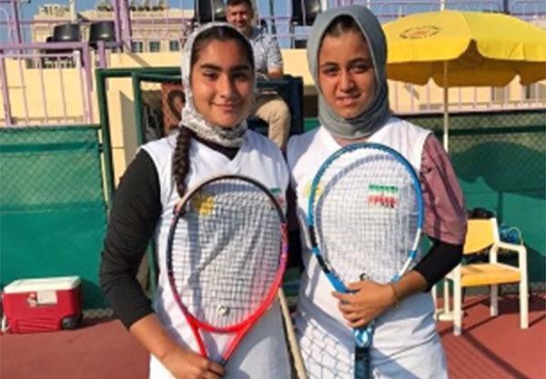 تنیس زیر 13 سال غرب آسیا؛ رحمانی و قوام قهرمان و نایب قهرمان شدند