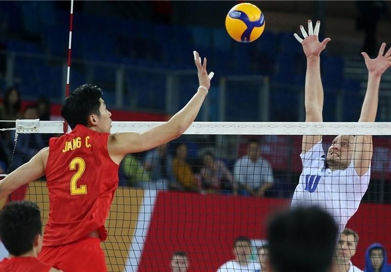 والیبال انتخابی المپیک، جدال حریفان ایران به سود چین تمام شد