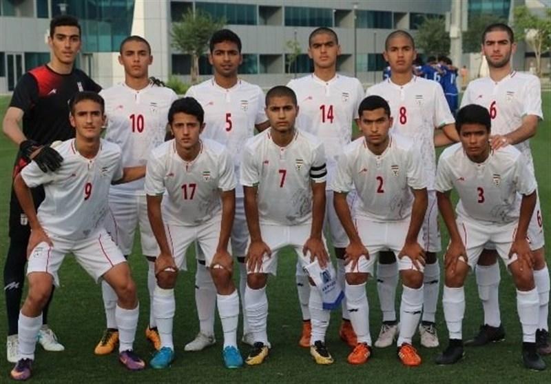 فوتبال زیر 16 سال قهرمانی آسیا، شکست ایران مقابل اندونزی در نخستین گام