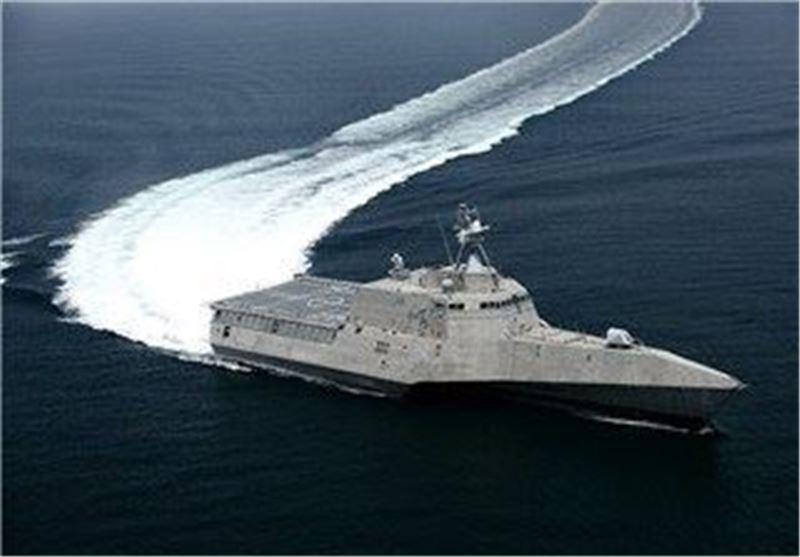 نزدیک شدن ناو آمریکایی به جزایر دریای جنوبی چین نقض قوانین چین است
