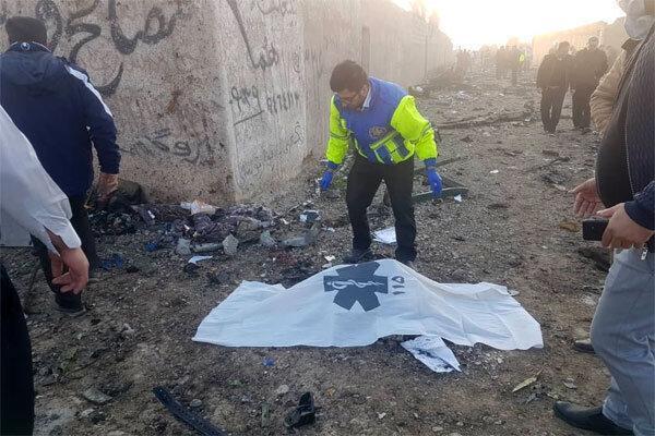123 تن از جانباختگان سقوط هواپیمای اوکراینی شناسایی شدند