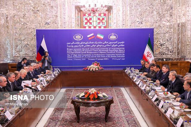 تاکید رئیس دومای دولتی روسیه بر تداوم گفت وگو بین ایران و روسیه