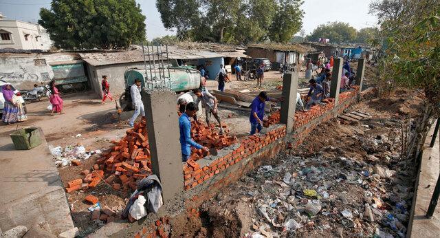 دیوار دیگری برای ترامپ بالا می رود، این بار در هند