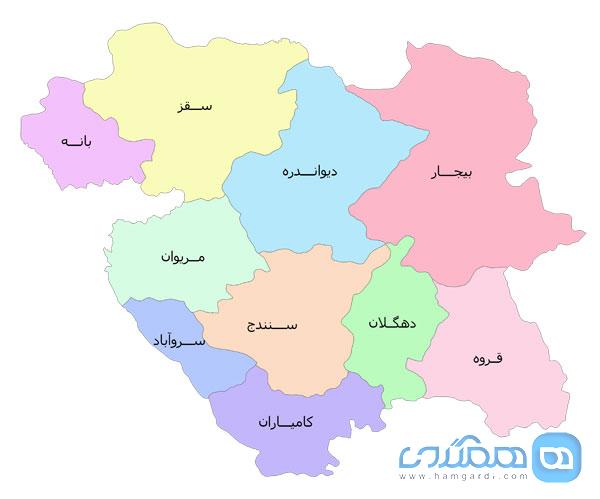 سفر نوروزی به استان کردستان ، از مرتفع ترین مناطق سرزمین ایران