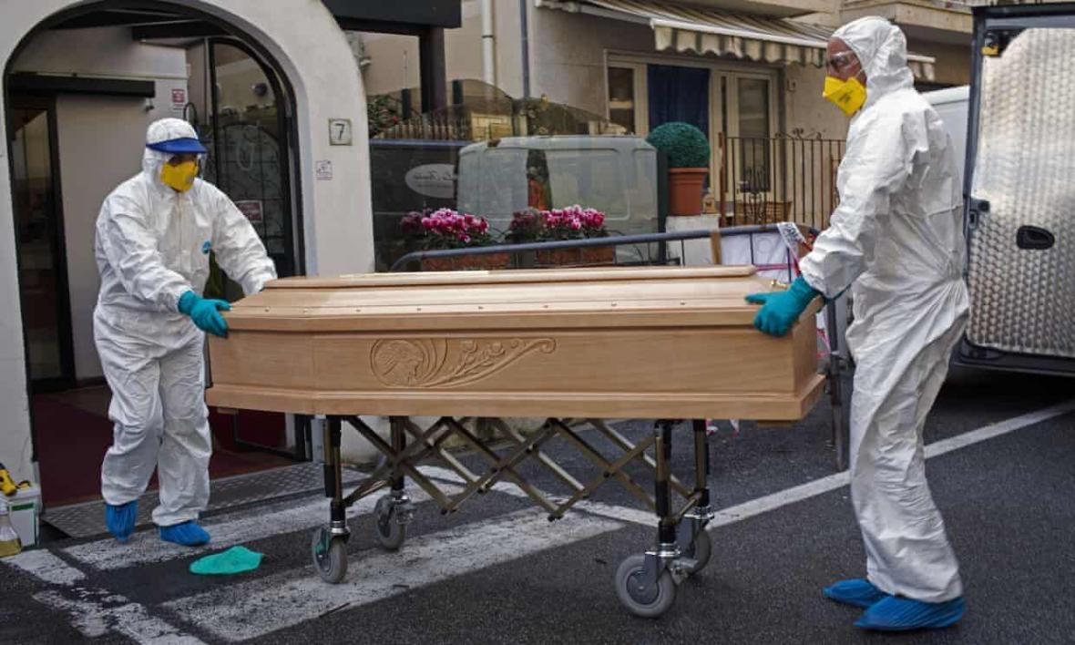 بالاترین آمار مرگ ومیر ناشی از کرونا در اروپا متعلق به انگلستان
