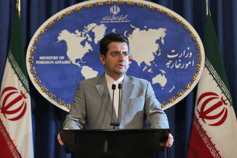 سخنگوی وزارت خارجه ملاقات ظریف با فرماندار سابق آمریکایی را تائید کرد