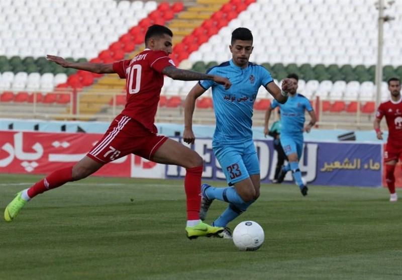 لیگ برتر فوتبال، تساوی یک نیمه ای تراکتور و پیکان