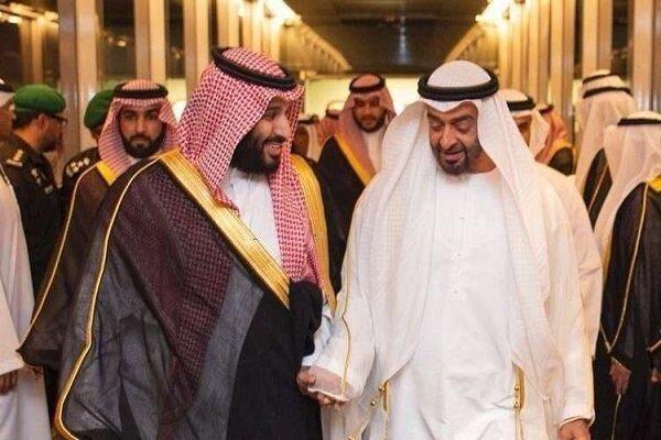 نشست محرمانه بن زاید و بن سلمان درباره قطر
