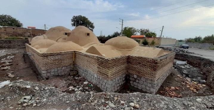 اتمام بازسازی و بازسازی حمام تاریخی تسوج منوط به اجرای تعهدات شهرداری است