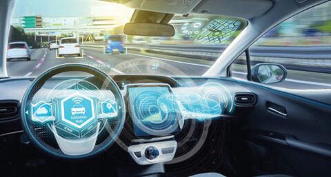 موتور جست و جوی چینی خودروی خودران می&zwnjسازد