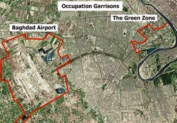 پرتاب راکت به سوی منطقه الخضراء بغداد