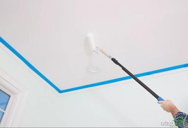 آموزش رنگ آمیزی سقف با توضیحات کامل و اجرای ساده و آسان