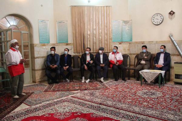 خبرنگاران نخستین خانه هلال زرتشتیان یزد در مزرعه کلانتر میبد گشایش یافت