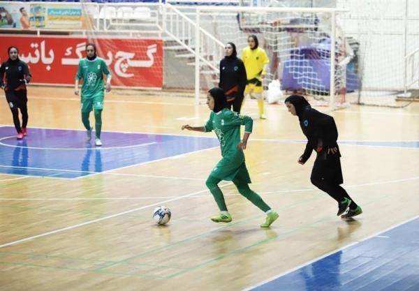 لیگ برتر فوتسال بانوان، پیروزی پرگل خراسان رضوی و سایپا