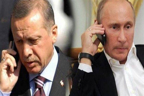 پوتین و اردوغان درباره سوریه، لیبی و قره باغ تبادل نظر کردند