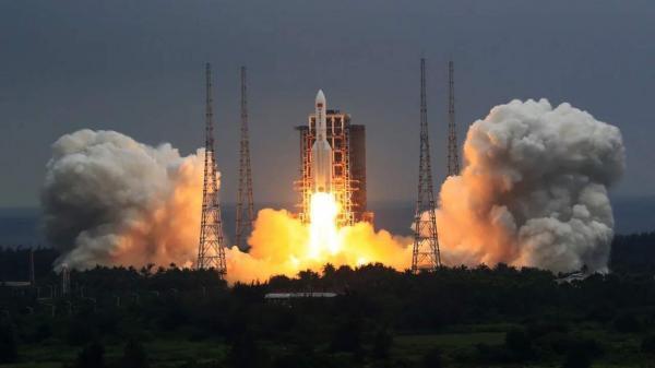 چین ماژول اصلی ایستگاه فضایی جدید خود را به مدار پرتاب کرد