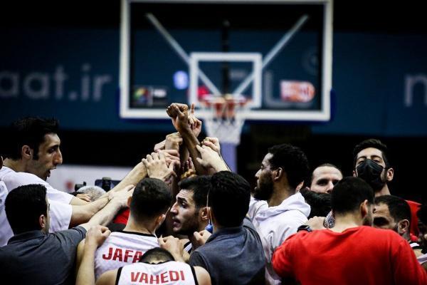 خبرنگاران پیروزی شهرداری در فینال سوم ، گرگان در انتظار جام قهرمانی بسکتبال