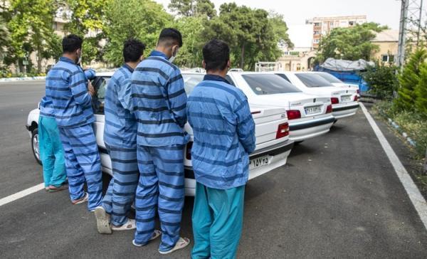(تصاویر) دستگیری سارقان مسلح شورآباد