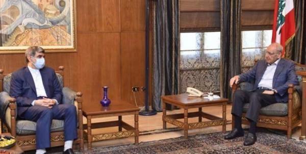 رایزنی سفیر ایران در لبنان با نبیه بری