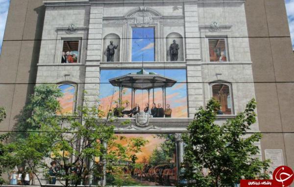 اولین نقاشی های دیواری کانادا