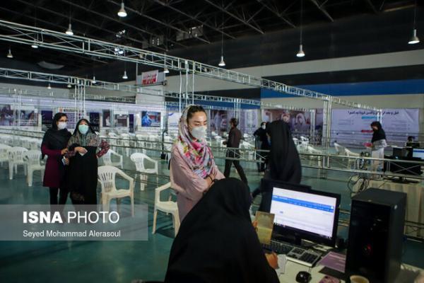 تعداد کم مراجعه مردم مشهد به مراکز واکسیناسیون